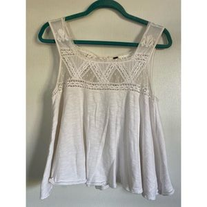 Free People backless tank top